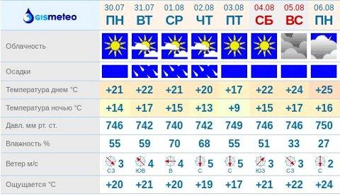 GISMETEO RU: Погода в Томске на сегодня, завтра